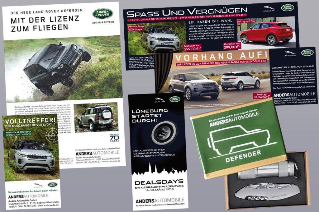 Andersautomobile, Jaguar Land Rover, Seevetal